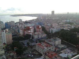 View from the Hotel Habana Libre over Centro Habana