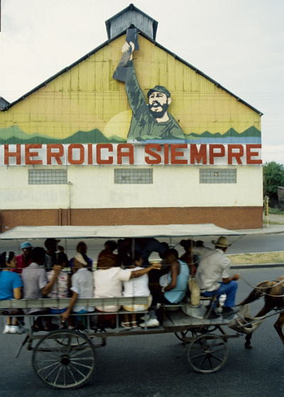 In front of the Rum-Factory in Santiago de Cuba