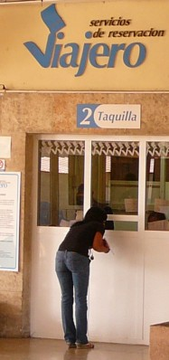 a ticket office in Cuba