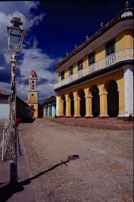 Plaza mayor en Trinidad
